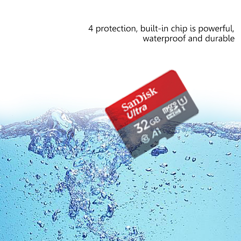 Sandisk Class 10 Micro sd card 128gb SDXC TF cards 32gb memory card 64gb Microsd 16gb Original SDHC MINI SD card free adapter 6