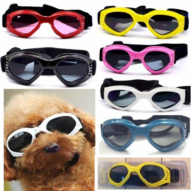 Óculos de cão Moda Pet Dog óculos de Sol Dos Olhos Usar Óculos de Proteção  UV a76619ee56