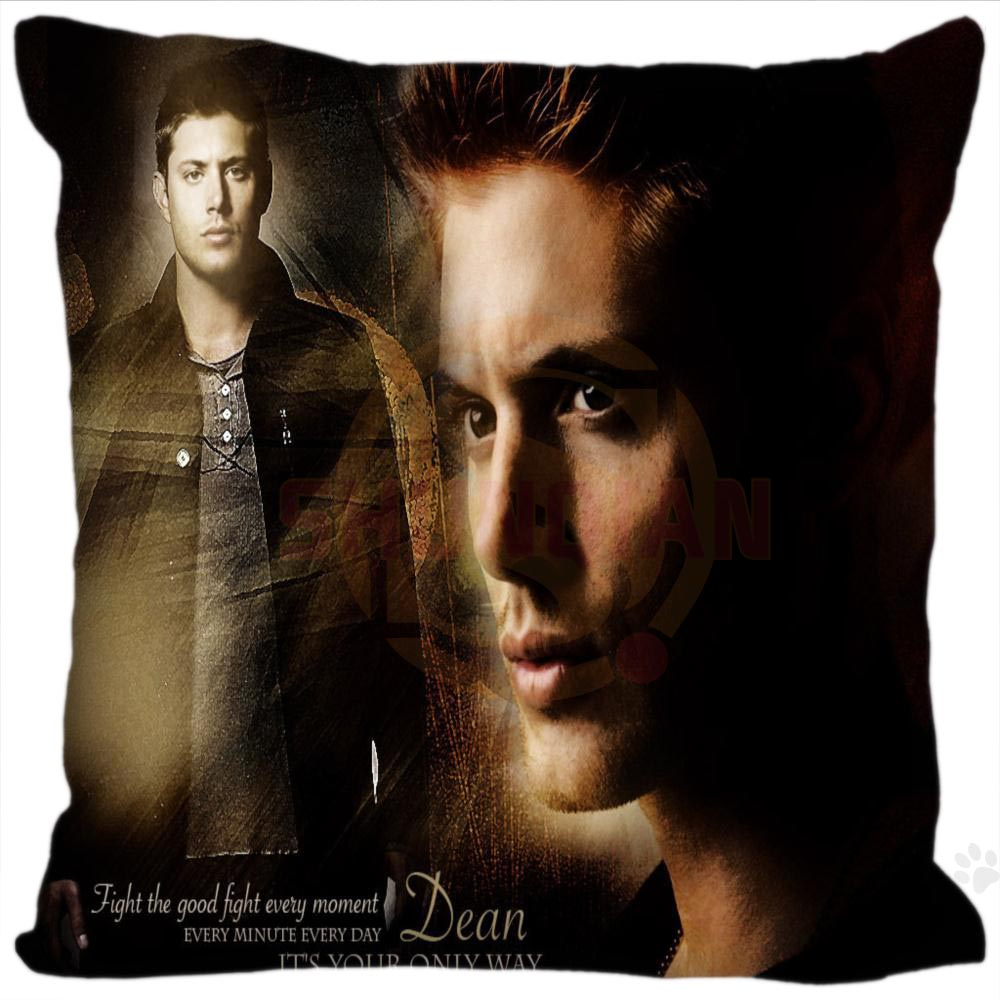 H+P#196 New Hot Custom Pillowcase supernatural#1 soft (One sides) Pillow Cover Zippered SQ01003@H0196