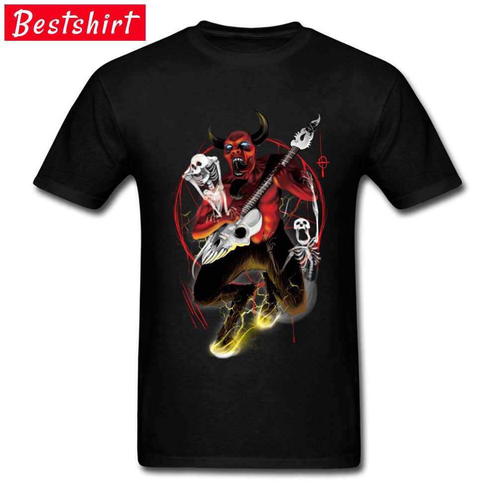 9d7eb2f9b876 Bass Rock T Shirts Hallowmas Satan Guitar Death Skeleton Skull Printed  Tshirts Funny Novelty Design Fashion