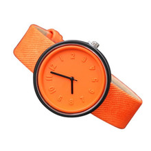 New Hot Arabic Digital Solid Color Full Three-dimensional Scale Belt Watch Female Multi-color Student Chronograph