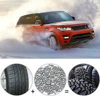 100Pcs Set Anti Slip Car Snow Tire Spikes 12mm Car Tyre Studs Screw Snow Chains Auto