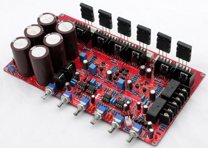 Free Shipping! 1pc  1943/5200 2.1 amplifier board (80W +80 W +100 W)Free Shipping! 1pc  1943/5200 2.1 amplifier board (80W +80 W +100 W)