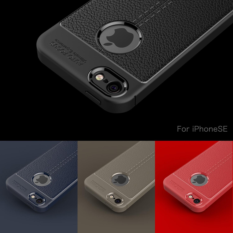 Shockproof Luxury Leather Soft iPhone Case 1