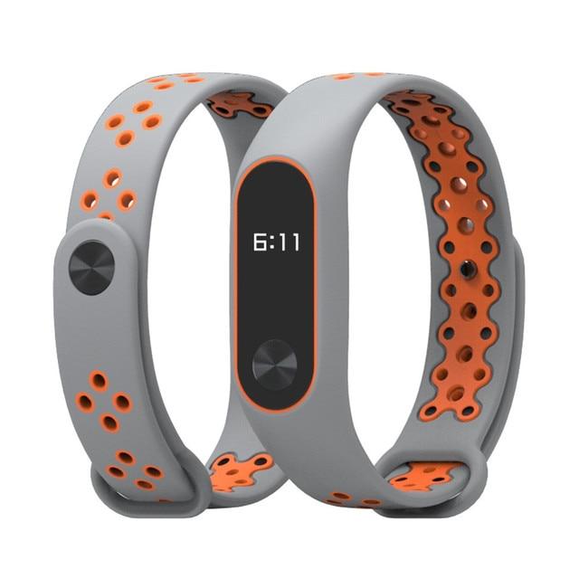 For XIAOMI MI Band 2 Durable Replacement TPU Anti-off Wristband Sports Bracelet  #NE807 1