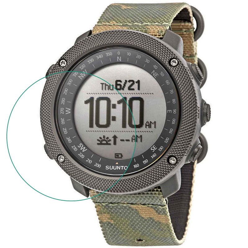 Tempered Glass Protective Film Clear Guard Protection For Suunto Traverse Alpha Watch Smartwatch Display Screen Protector Cover