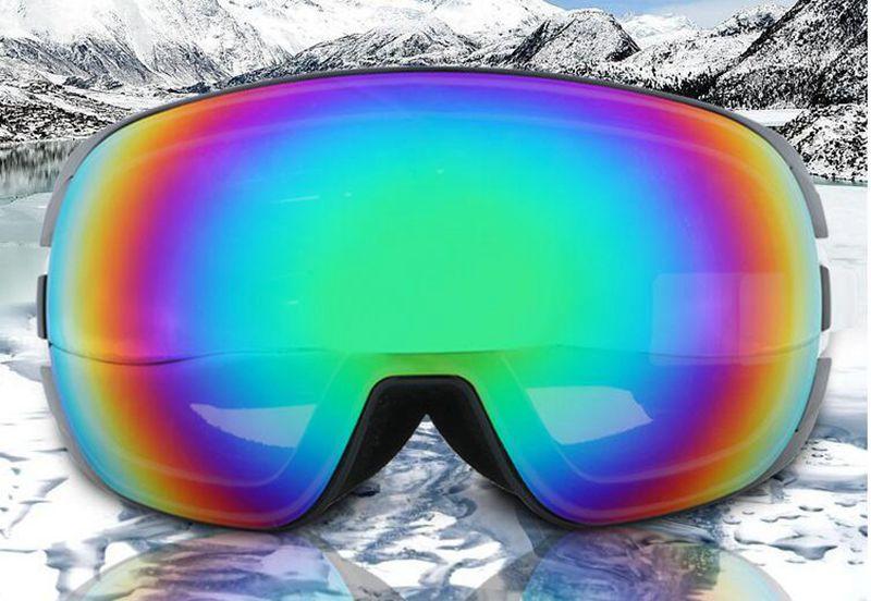 Chaud! Lunettes de Ski professionnelles hommes femmes Anti-buée lentille UV400 adulte hiver Ski lunettes Snowboard neige lunettes, livraison gratuite