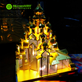 Original Microworld RUSSIA CHURCH OF THE TRANSFIGURATION 3D PUZZLE 4 sheets Metal assembly model Creative intelligence toy
