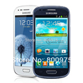 Restaurado original samsung i8190 galaxy s3 mini siii teléfono android de doble núcleo del teléfono celular 3g 5mp 8 gb wifi desbloqueado