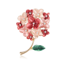 Flower Pin Brooch Wedding Jewelry For Women Elegant Fashion Corsage Vintage Accessories Birthday Gift