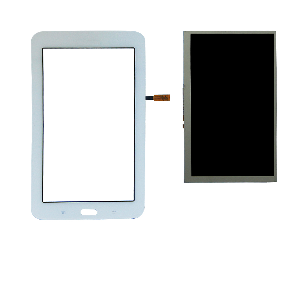 Touch Screen Digitizer Panel+LCD Display For Samsung Galaxy Tab 3 Lite SM-T110 BA070WS1-400  T113 T113NU Assembly Repair Parts new 11 6 full lcd display touch screen digitizer assembly upper part for sony vaio pro 11 svp112 series svp11216px svp11214cxs