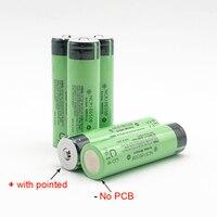 18650 3400mAh New Original 18650 3.7v 3400mah Lithium Rechargeable Battery 5pcs NCR18650B with Pointed No PCB 18650B 3400mah M12