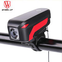 KOŁA UP 2018 NOWY Reflektor Lampa LED USB Akumulator Rower Róg Kierownica Rowerowa Reflektorów Latarka Accesserioes