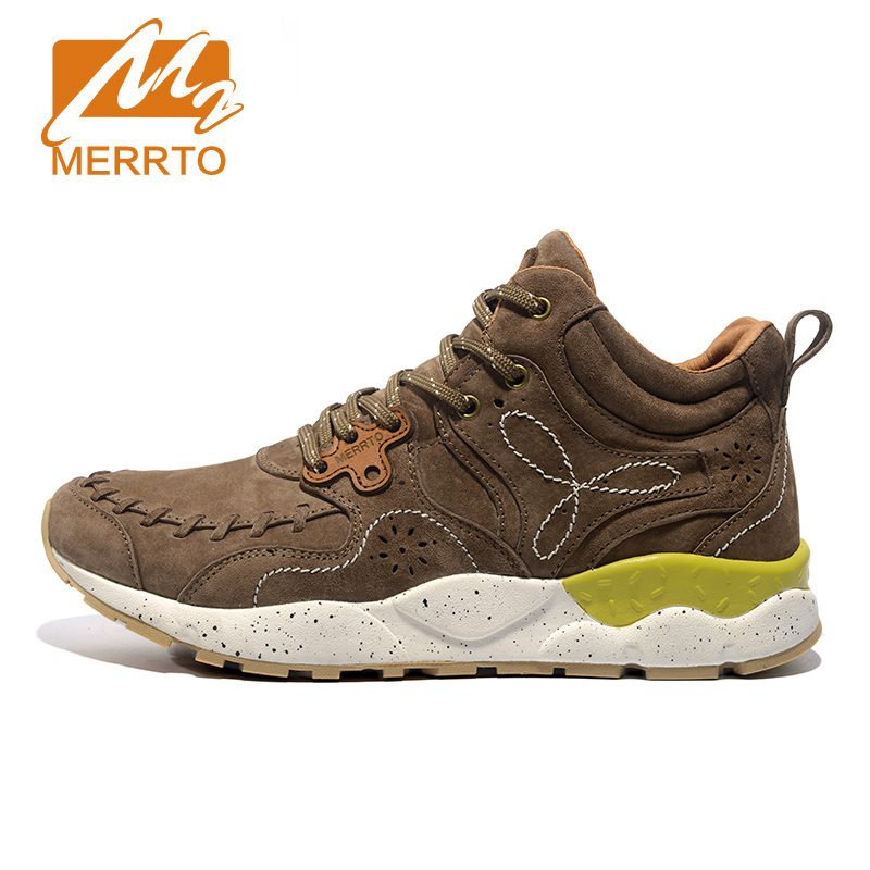Merrto Winter Breathable Hiking Shoes For Men New Outdoor Hiking Boots Men Women Warm Walking Shoes Mountain Boots new women hiking shoes outdoor sports shoes winter warm sneakers women mountain high tops ankle plush zapatillas camping shoes