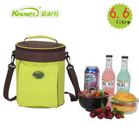 KinNet Thermal Lunch Bag For Women Dry Ice Packs Simple Fashion Oxford Waterproof Ice Pack Aluminum