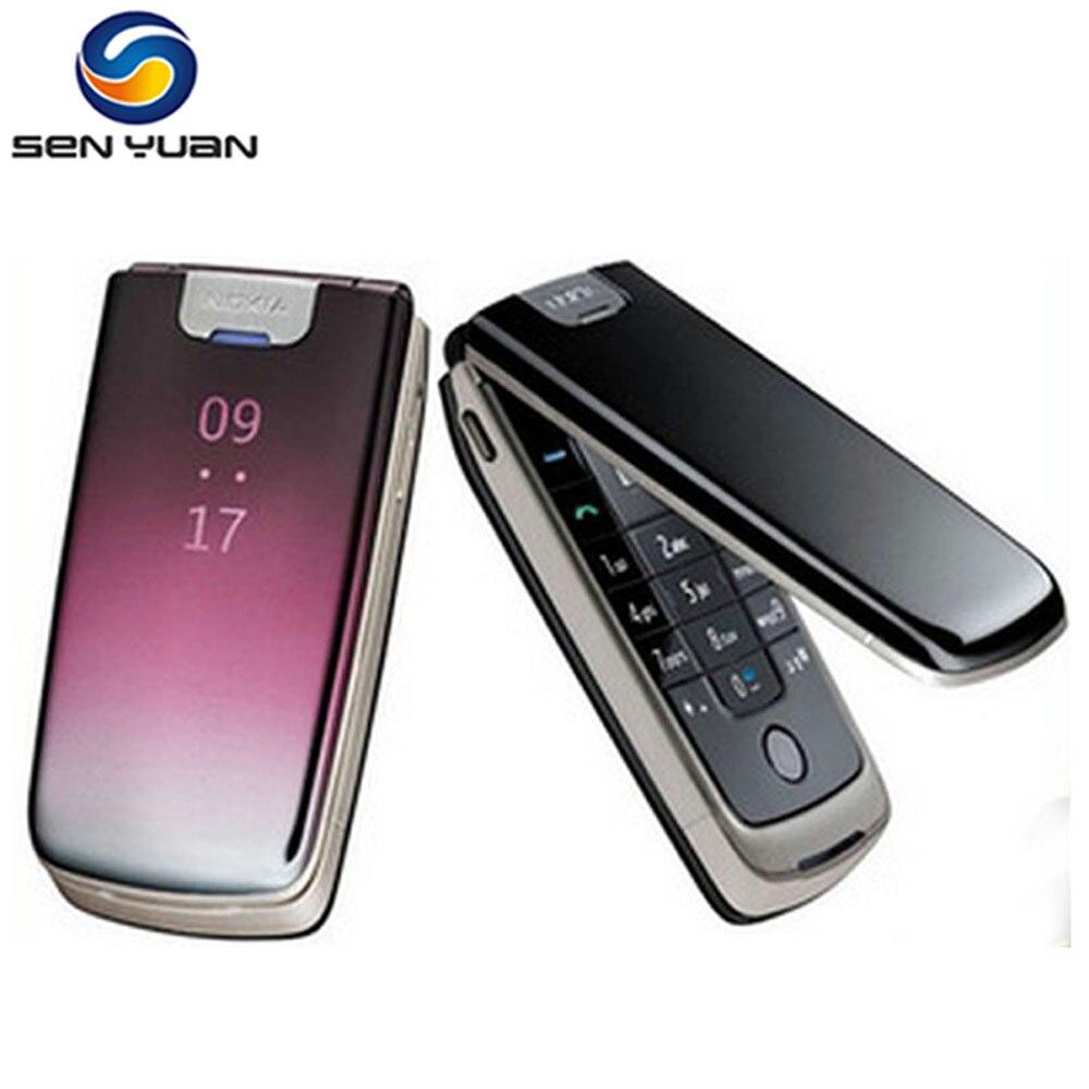 Цена за Оригинальный nokia 6600 fold разблокирована сотовый телефон bluetooth fm mp3 3 г русский поддержка клавиатуры 6600f телефон