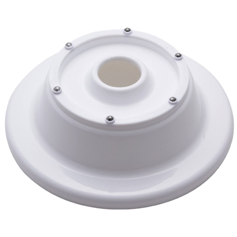 New Rotating Revolving Decorating Stand Cake Sugarcraft Turntable Platform Mould (White)
