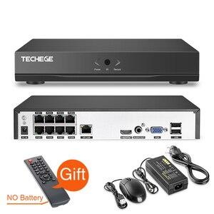 Image 3 - Techege 8CH Super HD 5MP Audio sistema de vigilancia 2592*1944 impermeable al aire libre IP cámara de detección de movimiento sistema de cámara CCTV