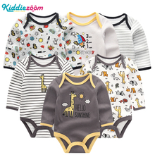 New Baby Boys Rompers Clothe Girls  Playsuit Infant Jumpsuit Long Sleeve Baby Clothing Summer Boy Roupas de Pajamas bebe Clothes