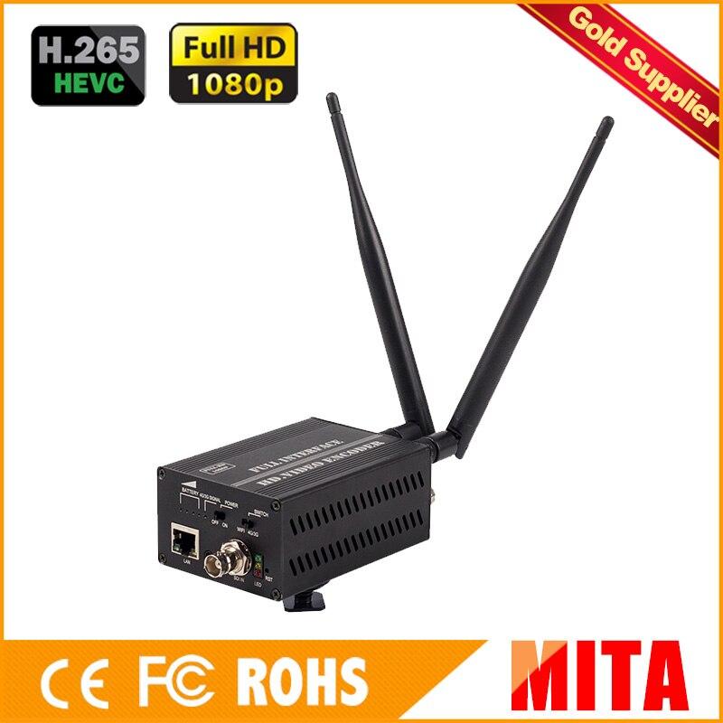 Full HD H9 H.265/H.264 3G/4G sdi wifi au modulateur d'encodeur dvb-c aux Codes Xtream du serveur multimédia VLC
