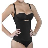 Latex Shaper Bodysuit Women Postpartum Firm Control Thongs Full Body Briefer Shapewear Model Stap Waist Trainers