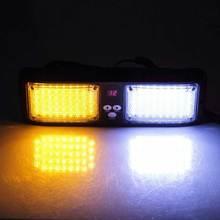 Emergency Super Bright 86 Led Strobe Visor red and blue light lamps  super price fast shipment! led