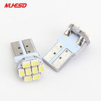 500pcs High Quality W5W T10 8 smd Led 1206 PCB 8leds 8SMD 3020 Car Interior Light 194 168 192 3020 Auto Wedge Lighting DC 12V