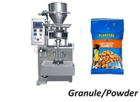 5 1000g automatic granule packing machine for popcorn, rice, candy, nuts, dried fruit