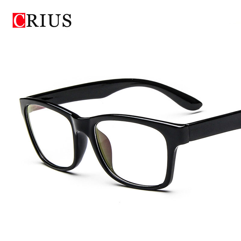 D womens optical glasses frame eyeglasses Square clear ...