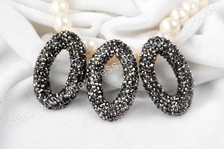 BOROSA Marquise Rhinestone Decorations for Bracelet Making Micro CZ ... 661cffb0b742
