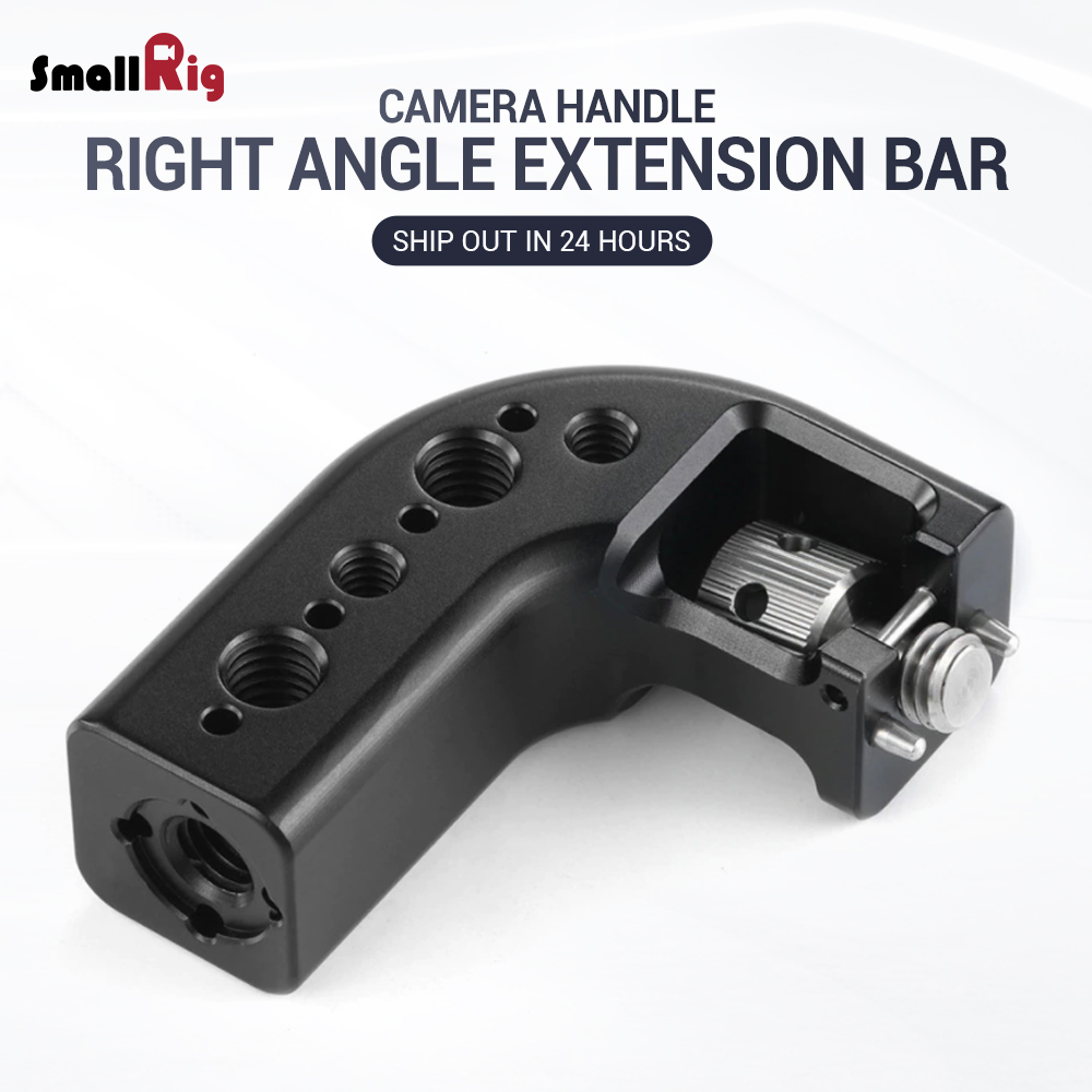 SmallRig DSLR Camera Rig Handle Grip Top Handle Right Angle Extension Rig HTR2316