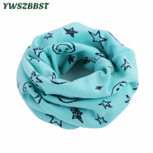 купить 2019 New Cotton Baby Scarf Baby Bibs Autumn Winter Boys Girls Scarf O Ring Collar Children Scarves Kids Neckerchief Burp Cloths в интернет-магазине