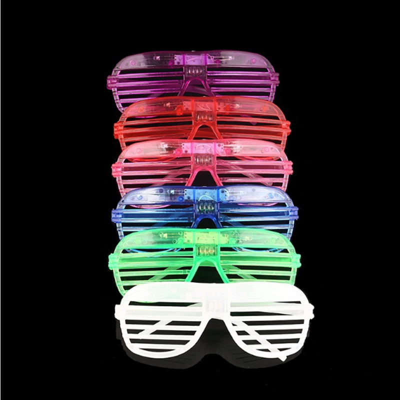 rave LED Blind Eye Mask Glasses Light Up Flashing Wedding Favors Gifts Birthday Party Supplies Adult