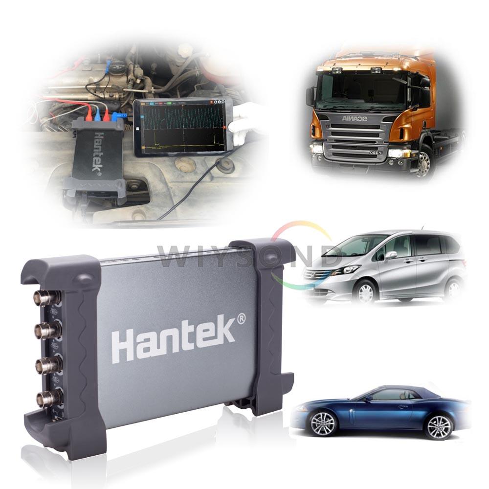 O099 6074BE (Kit JE) sur 80 Types de Automobile Mesure Fonction USB2.0 4 Voies Isolées Oscilloscope 70 mhz bande passante