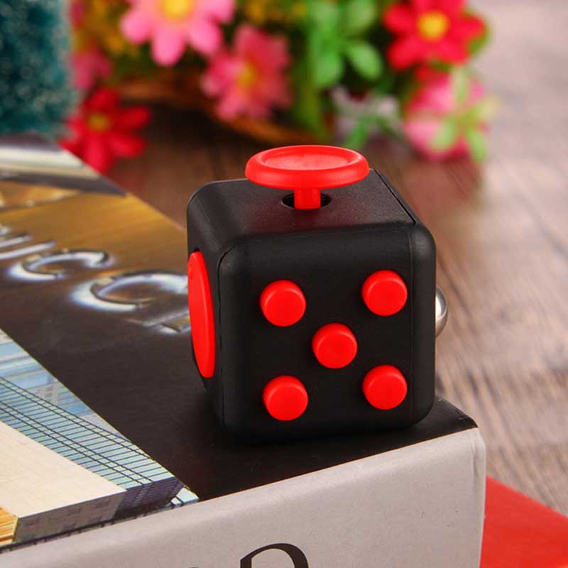 Hot Sell Colorful Stress Cube for Fidgeters Relieve Stress Anxiety Boredom Fidget Cube Relieves Stress Anti Irritability FL