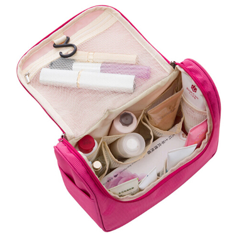 Multiunctional Portable Organizer Travel Bag Cosmetics Makeup