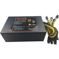 T F SKYWINDINTL 1600W APW3 PSU Mining Power Supply Antminer D3 S9 L3 Asic S9 PC