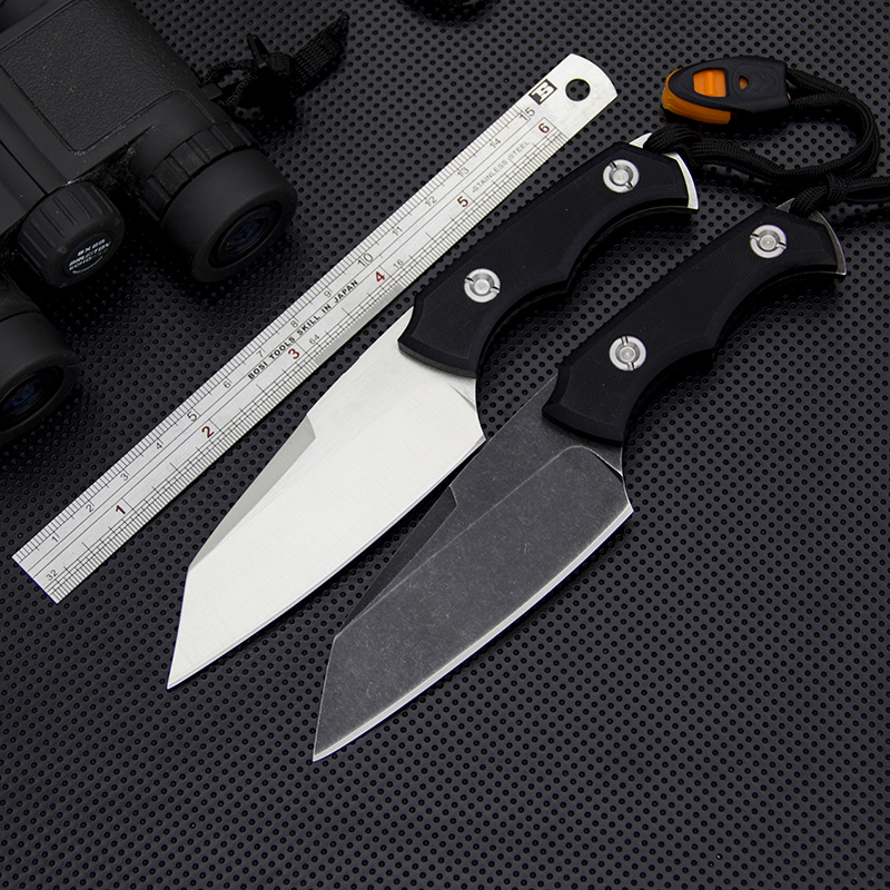 EDC Full Tang Survival Fixed Blade Knife D2 Steel Tactical Knife Outdoor Jungle Knives Hunting Tools Self Defense Rescue Knives arte lamp archimede a6460pl 1br