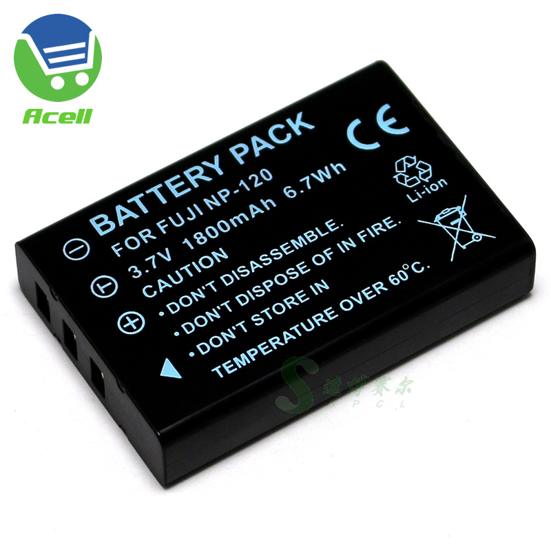 NP-120 Battery For Ordro HDR-AC1 HDR-AC3 HDR-AC5 HDR-AZ50 HDV-D395 D325 D320 D300 D200 D80S V12 V88 V7 PLUS Camcorder