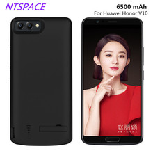 Fashion 6500mAh Portable Power Bank Battery Charger Cases For HUAWEI Honor V10 Power Case External Backup Power Bank Pack Cover jjz portable 6500mah external battery charger power bank for cell phone more yellow white