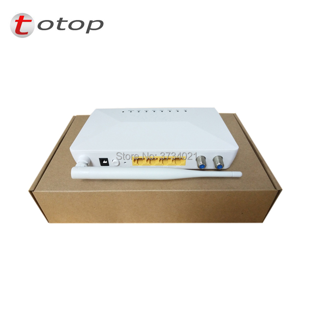 EOC Slave MSS5004W Modem with 1*TV + 1*CATV+ 4 10/100M RJ45 port + 300Mbps Speed Wifi Ports