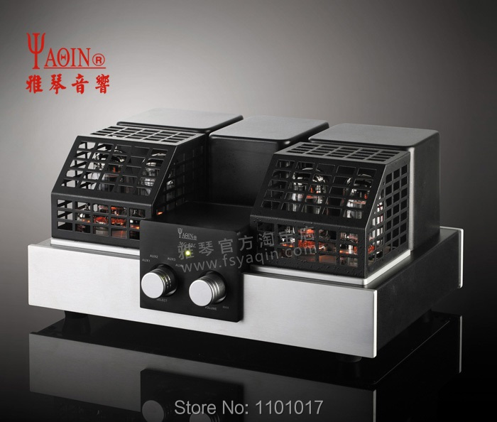 YAQIN MC-50L KT88 push-pull tube amplifier HIFI EXQUIS Class A lamp amp MC50L meixing mingda mc845 c st monoblock pure power tube amplifier hifi exquis 300b push 845 class a lamp amp standard version