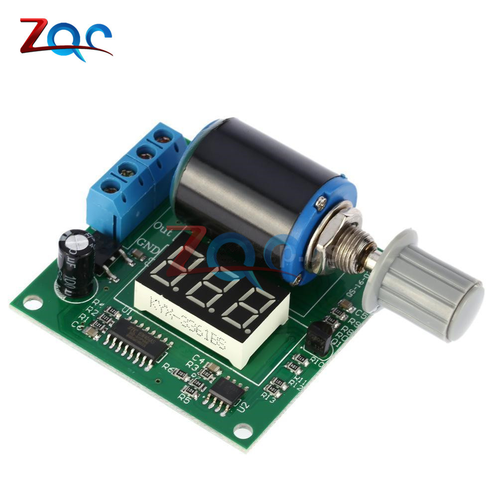 4-20mA DIY Kit for Digital Adjustable Current Signal Generator Module Board Precision to 0.1mA frequency generator DC 12V 24V