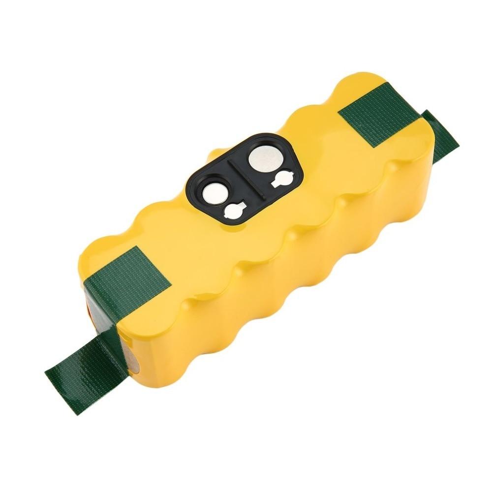 6000 mAh 14,4 V batería de NIMH para iRobot Roomba 521, 631, 700, 800, 900 Series aspiradora de la serie 510 de 530 550, 560, 570, 610, 620, 650