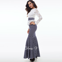 Polka Dot Evening Dresses