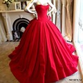 2016 Красный Свадебные Платья