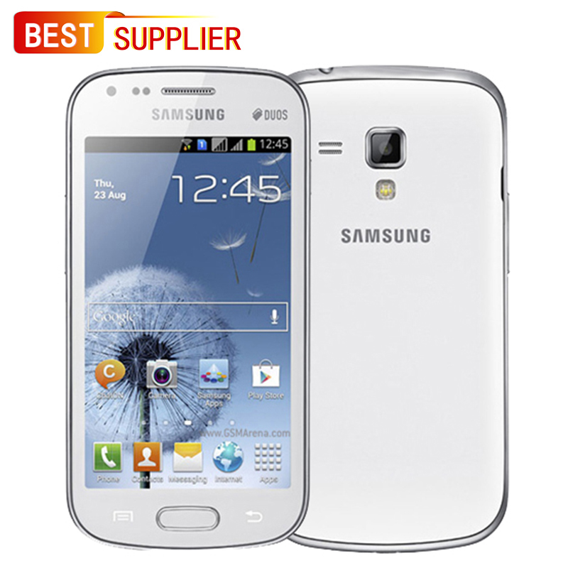 Samsung Galaxy Duos S7562 4GB Dual Core 8mp Used Smartphone Looks Like 1 1-Year-Warranty