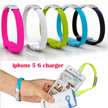 2015 NEW Bracelet 20cm Noodle 8 Pin USB Charger Cable Charging Wire Data Cord For iPhone 6 Plus 5C 5S IPAD4 Mini Air IPod IOS 8