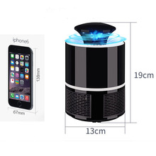 Mosquito Killer Light LED USB Anti Fly Electric Mosquito Lamp Home LED Bug Zapper Mosquito Killer Insect Trap Lamp EU/US Plug