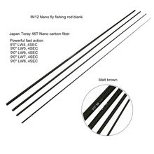 """Aventik 9'0"""" LW4 To LW8 IM12 Fresh Water Fly Fishing Rod Blanks Super Light Fast Action Fly Rod Blank"""